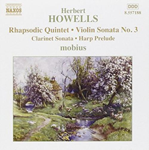 Howells Album featuring violinist Philippe Honore